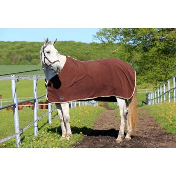 Manski Abschwitzdecke HIGHQUALITY Fleece, chocolate-milk
