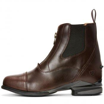 Ariat Damen Schuhe TELLURIDE ZIP H2O dark brown | reitsport