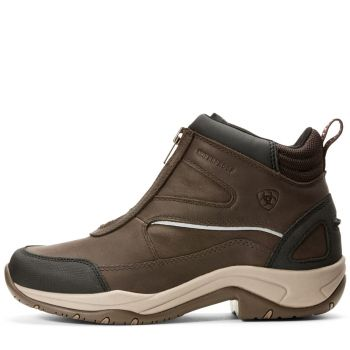 Ariat Damen Schuhe Telluride Zip H2O dark brown