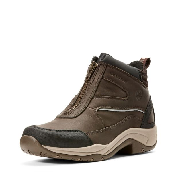 Ariat Damen Schuhe Telluride Zip H2O dark brown 38,5