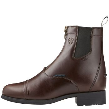 Ariat Bromont Pro H2O Zip Paddock Insulated, waxed chocolate