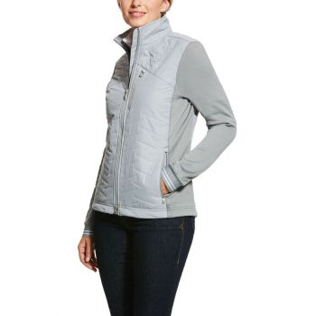 Ariat Damen Jacke HYBRID, grey