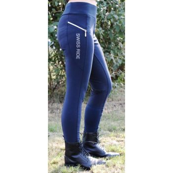 Swiss Ride Damen Reit-Leggings CHARLOTTE, navy