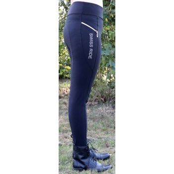 Swiss Ride Damen Reit-Leggings CHARLOTTE, black