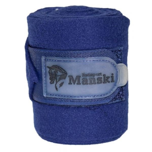 Manski Fleecebandagen navy Full